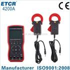 ISO CE ETCR4200A Intelligent Large Clamp Phase Volt-ampere Meter digital panel meter