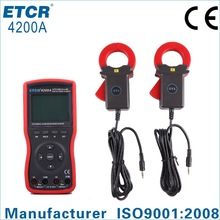 ISO CE ETCR4200A Intelligent Large Clamp Phase Volt-ampere Meter digital panel meter