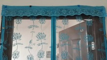 magnetic soft screen door curtain/magnetic mesh screen door/magnetic door screen curtains