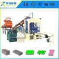 Qt4-15c bloco de gesso de produção máquinas/usado bloco oco que faz a maquinaria/china máquina do bloco