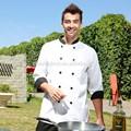 Executivo uniformes restaurante/restaurante chef coats/chef de roupa