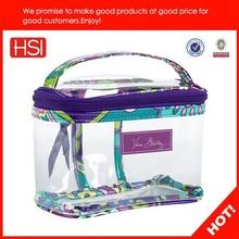 China wholesale beautiful cosmetic bag,travel cosmetic bag, leather cosmetic bag