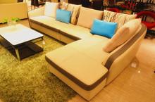 italian leather sectional sofa J853