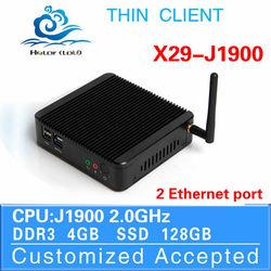 Ultra Low Power Intel J1800 mini desktop PC-station super mini thin client computer computer case 4*com 8*usb