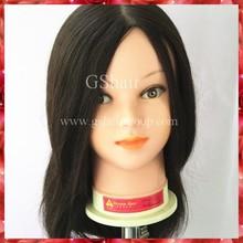Long Hair Training Head Indian human hair Trainning Mannequin Head