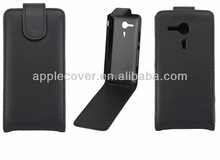 Flip cover case for xperia sp,case for sony xperia sp m35h c5302 c5303 c5306