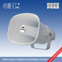 Public address Outdoor Stadium Speakers ,Super Plastic Horn Speaker IP66