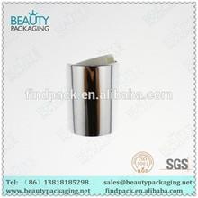 24/415 plastic aluminum gloss silver disc top caps