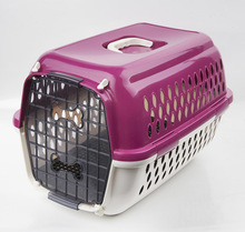 New Design dog portable cages dog crate plastic