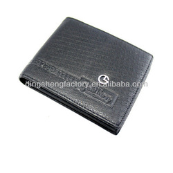 natural smooth high quality mens wallet with coin pocket wallet men