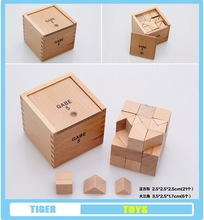 pre school professional froebel gifts wooden educational toys froebel GABE5 Third Block Series