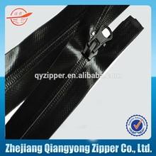 #5 #10 waterproof zipper pvc waterproof nylon zipper