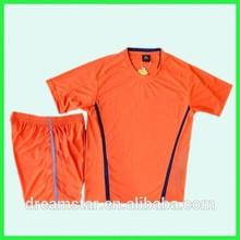 2015 Hot sale soccer shirt maker training football uniform