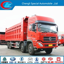 2015 New Diesel type 8X4 DONGFENG sand stone carrying tipper 31ton dumper dongfeng used dump truck
