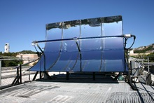 Parabolic trough solar collector