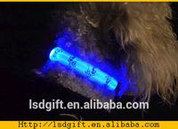 Security led flashing collars decorative led dog collors