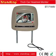 7 inch Auto radio entertainment Headrest monitor