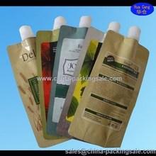 juice standing pouch plastics /fruit juice bag