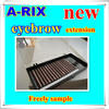 everyday use Private label 8mm synthetic silk eyebrow extension kit