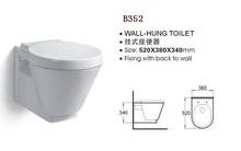 /B352 Good Quality Plastic Toilet Mat Man Toilet Air Freshener