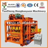 hongfa block machine QT4-25D cheap concrete block making machine