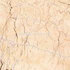 Polished Marble Composite Flooring Tile Cream Block
