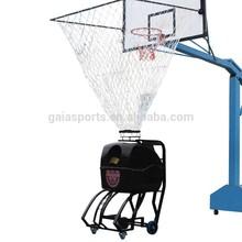 Intelligent basketball training program-controlled machine