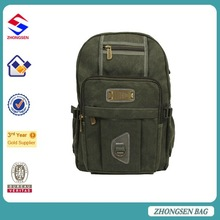 2015 New Korean Canvas Backpack Vintage Casual Canvas Day Backpack