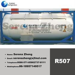 R507 iso tank refrigerant gas