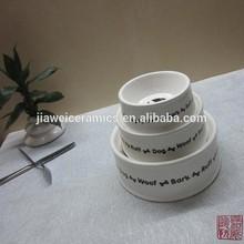 factory wholesale ceramic dog bowls pet bowls