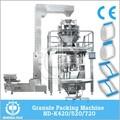 Nd-k420/520/720 grande e de alta qualidade vffs máquina de embalagem automática para carvãovegetal
