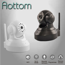 IOS, Android Support IP Camera Mini Phone Control View Pan Tilt 720p Indoor IP Canera