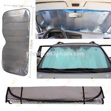 2015 hot sale aluminum car front window sunshade