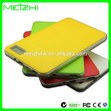 smart cellphone, computer etc. 2.1A & 1A output smart power bank multi function