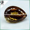 Di grandi dimensioni 149.2ct prezzo migliore forma di pera citrino di colore mistico cristallo di quarzo naturale