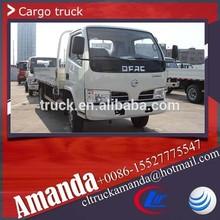 4x2 Dongfeng light truck, 2 ton - 5 ton China light trucks, 95hp cargo light truck