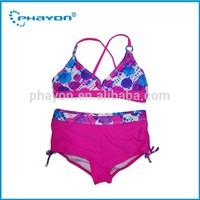 2014 Phayon lovely micro children girl swimwear/girl swimwear/ www sex kids girls swimwear xxx models