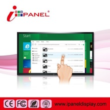 high performance 50 inch touch screen, lcd advertising monitor