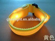 Economic unique flashing colored bracelet led