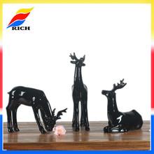custom polyresin home decor deer