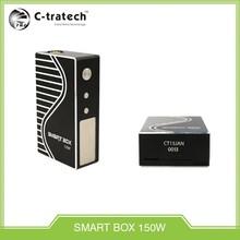 Newest ecig mod vapor mod wholesale big watts box mod 150W with smaller size
