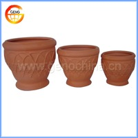 clay pots for flowers