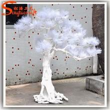2015 wholesale artificial pine tree branches White snow needle pine christmas tree