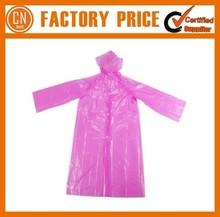 Best Sale Poncho Raincoat Customized Vinyl Raincoat Low Price
