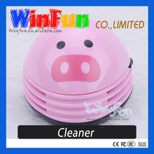 Pig Rechargeable Portable Mini Desktop Vacuum Cleaner