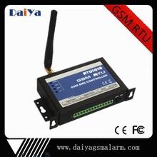 DAIYA 4 DIN and 4 voltage output gsm rtu sms controller alarm RS232 RTU5010
