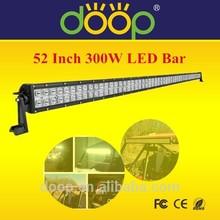 CE RoHs IP67 High Bright 52 Inch 300W LED Work Light Bar Spot Flood Combo 9-32V LED Bar Lamp DP032-3W-300W