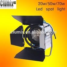 3200K/5600K dimmable led fresnel video studio film spot light