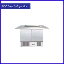 Digital Temperature Controller High Energy Efficiency Brand New Steel Freezer