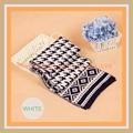 y de la moda al por mayor comrtable las mujeres bufanda tejida a mano
